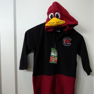 USC (S. Carolina) Gamecock Mascot Sweatsuit (3T)